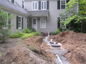 Septic system, house sewer pipe, Bio-Gard